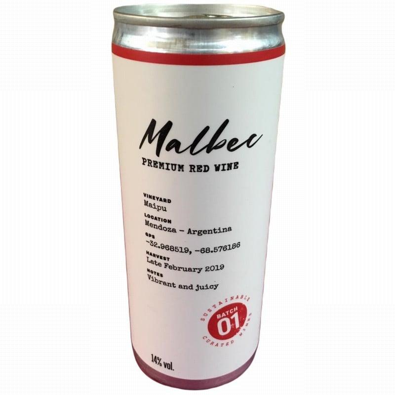 Zuccardi Malbec 2019 (250ml can)