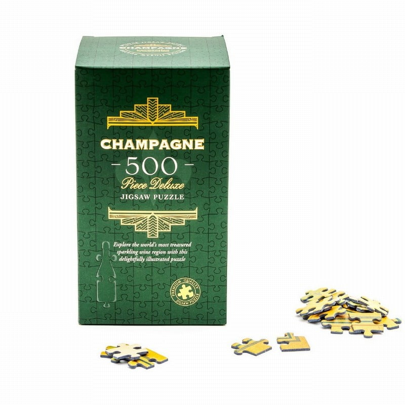 Champagne Jigsaw Puzzle 500 Piece