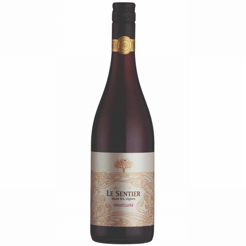 Le Sentier Dans Les Vignes Vaucluse Rouge 2019