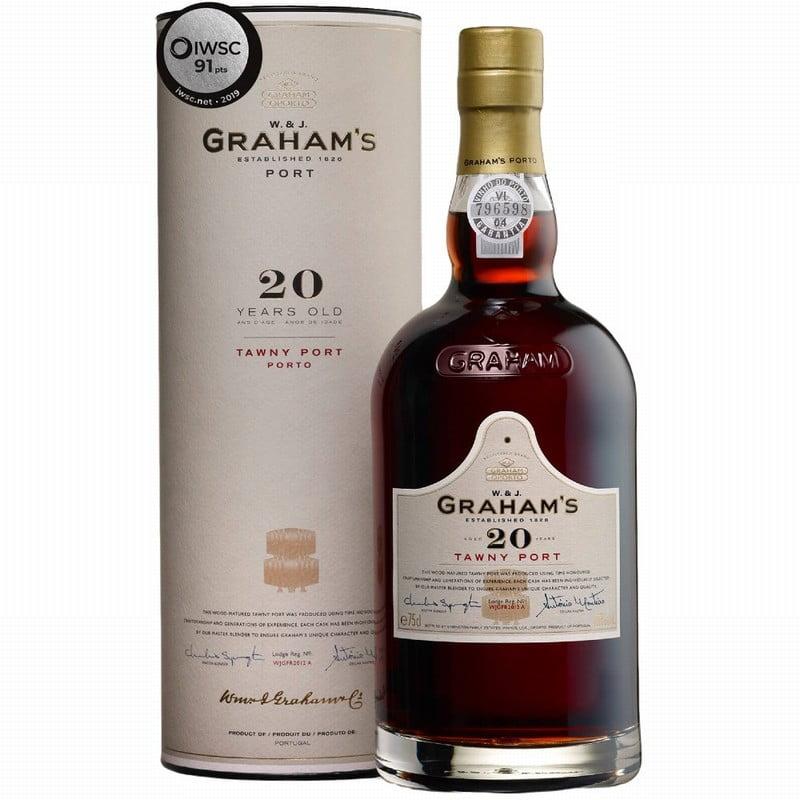 Grahams 20 Year Old Tawny Port