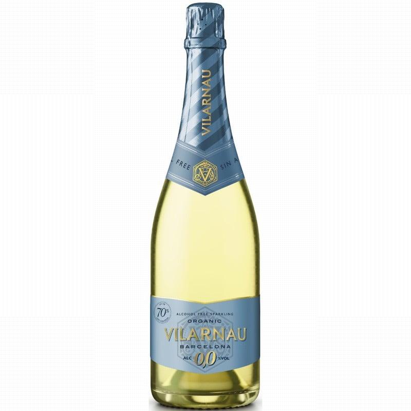 Vilarnau Alcohol Free Organic Sparkling Wine NV