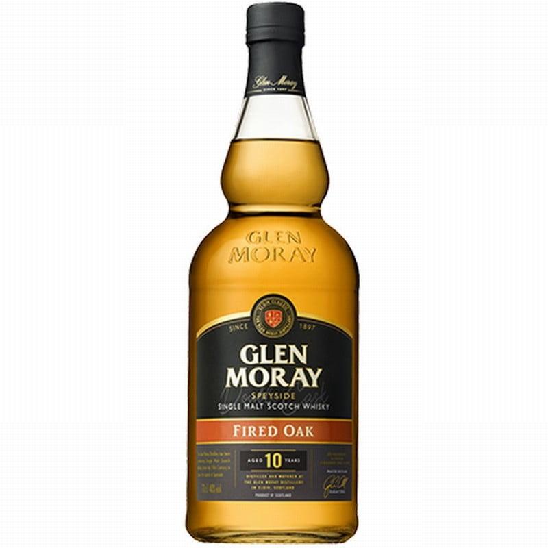 Glen Moray 10 Year Old Fired Oak Single Malt Whisky