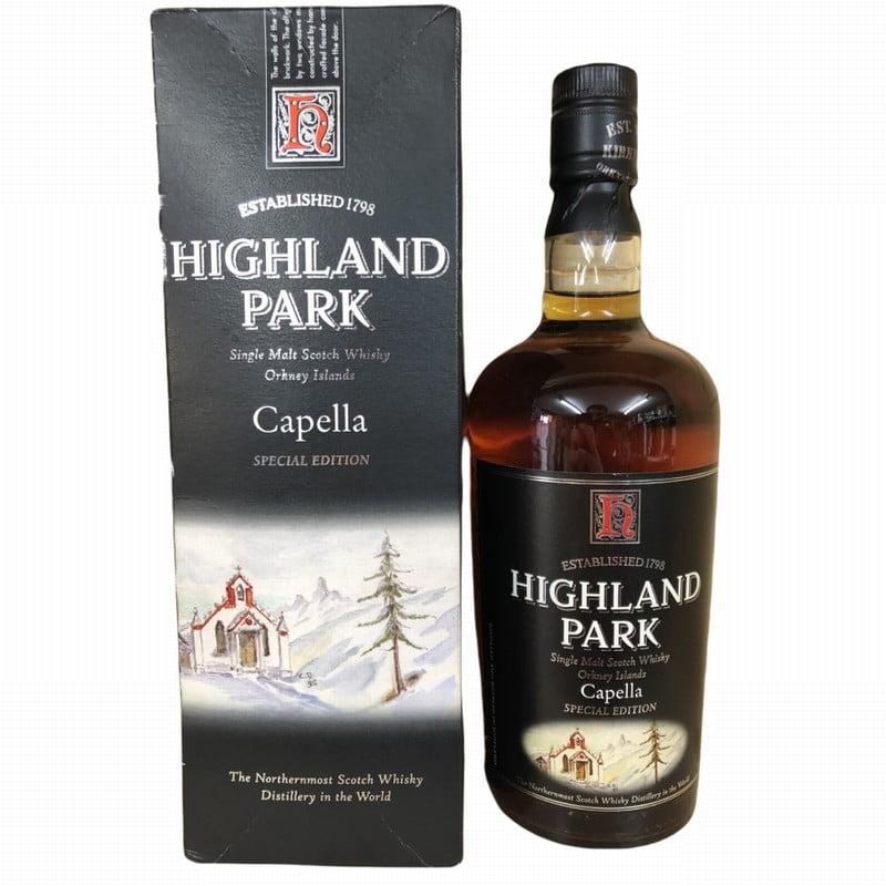 Highland Park Capella Special Edition Single Malt Whisky