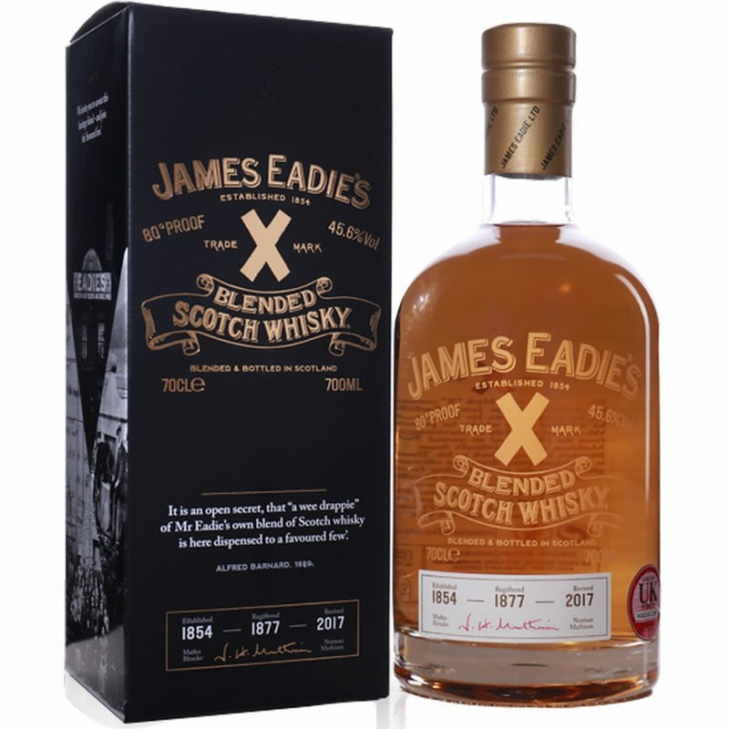 James Eadie's Trade X Blended Scotch Whisky