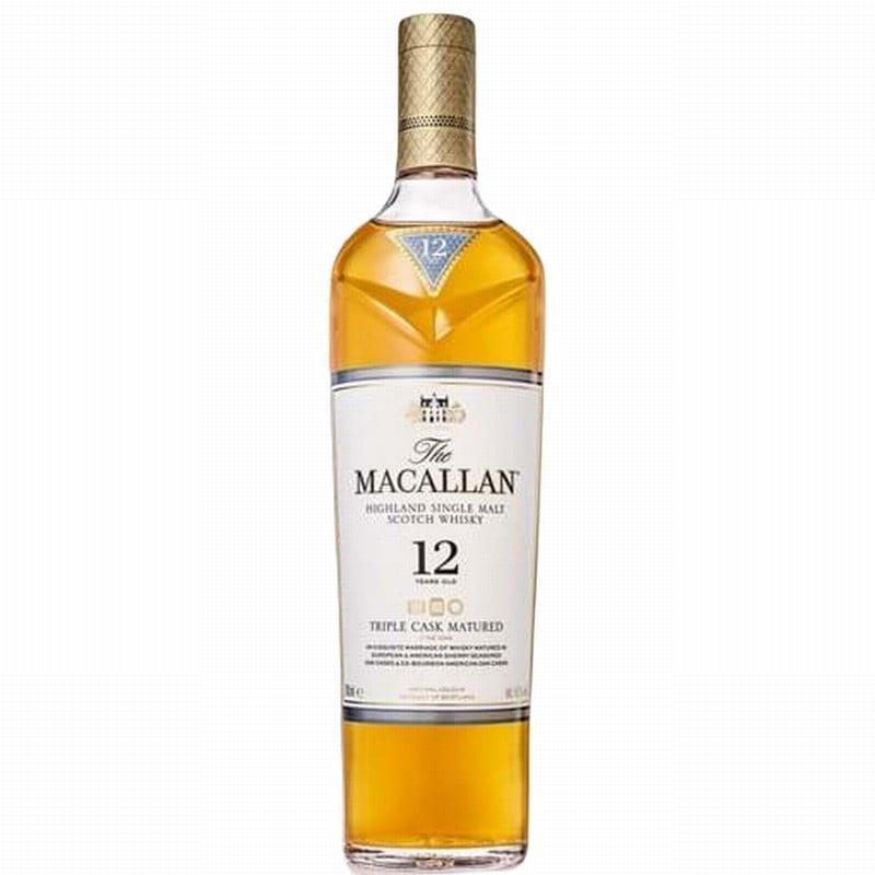 Macallan 12 Year Old Triple Cask Single Malt Whisky