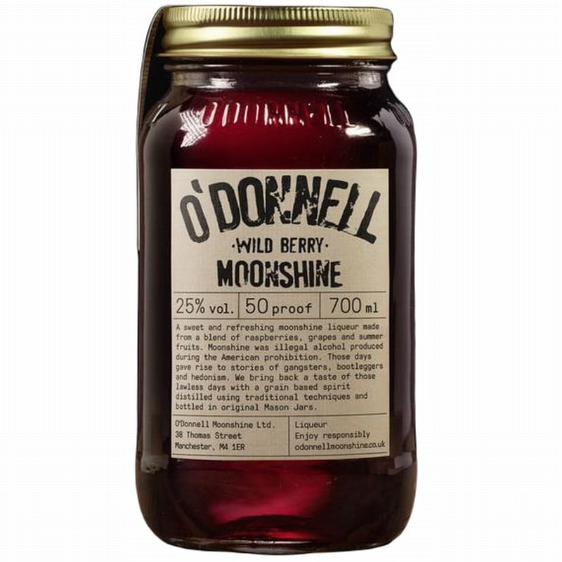 Moonshine Wild Berry (70cl)