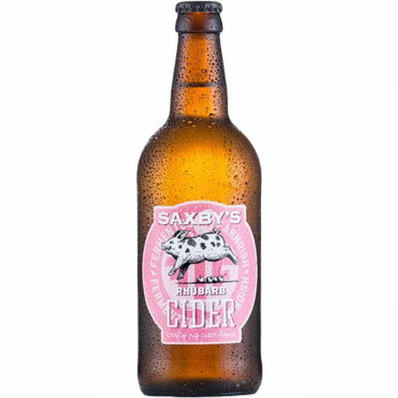 Saxby's Rhubarb Cider