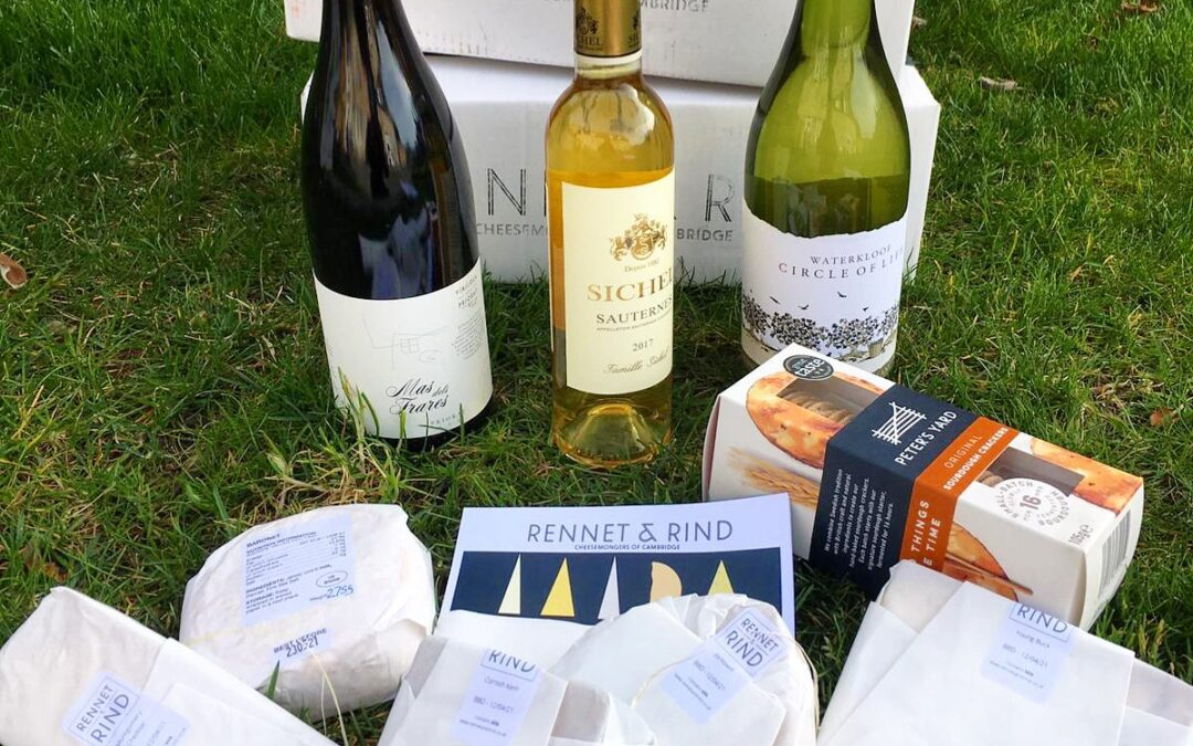 Wine and Cheese Online Tasting