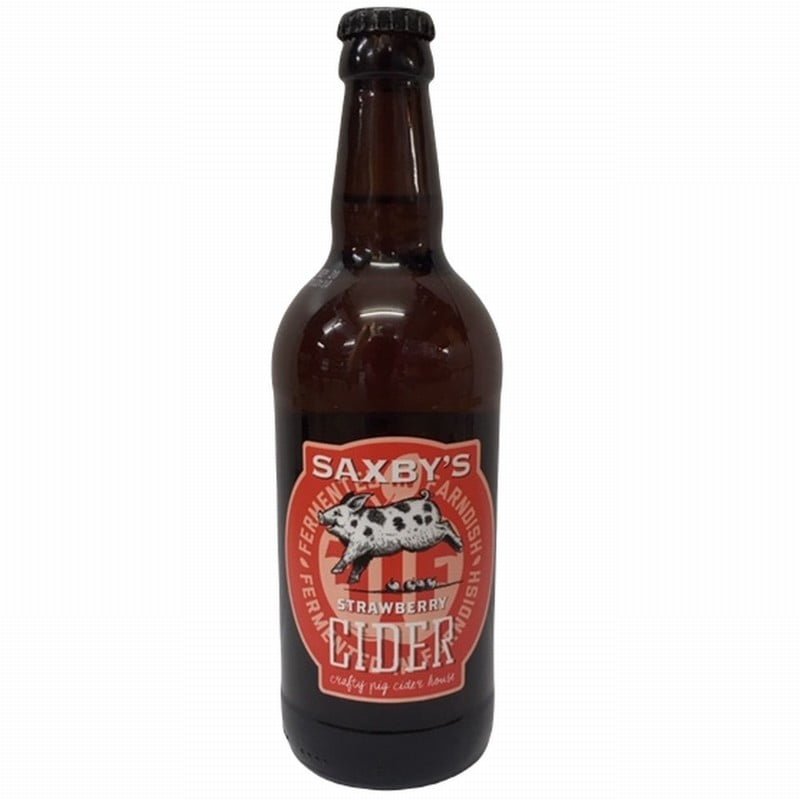 Saxby's Strawberry Cider