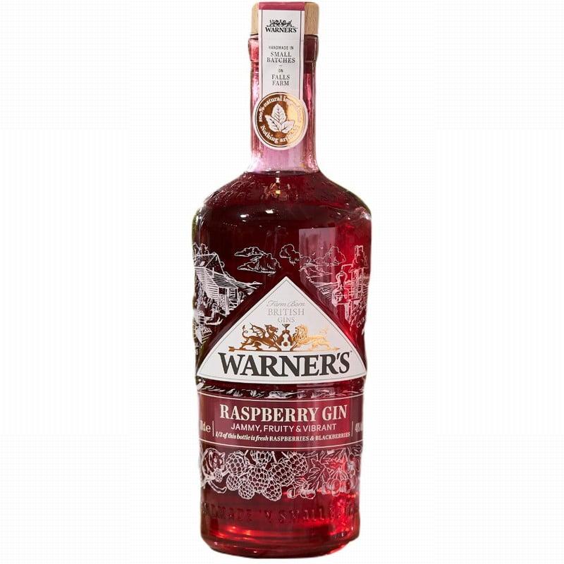Warners Raspberry & Hedge Row Fruits Gin