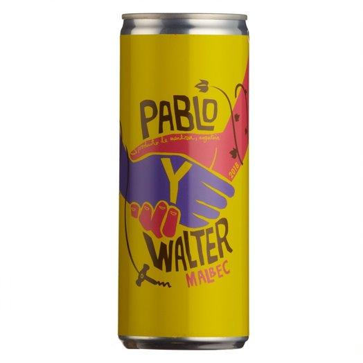 Pablo Y Walter Malbec 2019 (250ml can)