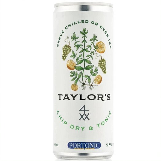 Taylor's Chip Dry & Tonic (250ml can)